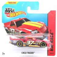 Hot Wheels 156/250 - Circle Trucker Diecast Car - HW Race
